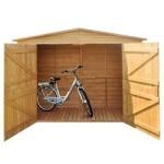 Fahrradgarage Holz