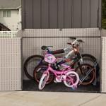 Fahrradgarage Kunststoff