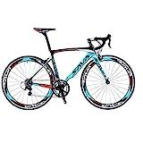 SAVADECK Warwind3.0 Carbon Rennrad 700C Kohlefaser Rahmen Fahrrad mit Shimano SORA R3000...