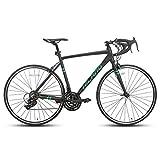 Hiland Rennrad 700c Rennrad Aluminium City Commuter Fahrrad mit 21 Geschwindigkeiten...