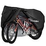 toptrek Fahrradabdeckung für 2 Fahrräder Wasserdicht 210T Oxford Hochwertige...