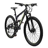 BIKESTAR Fully Aluminium Mountainbike Shimano 21 Gang Schaltung, Scheibenbremse 26 Zoll...